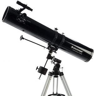 Telescopes under $200 - Celestron PowerSeeker 114EQ