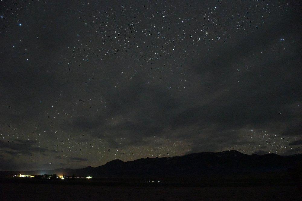Stargazing in Great Basin - Baker Archaeological Site