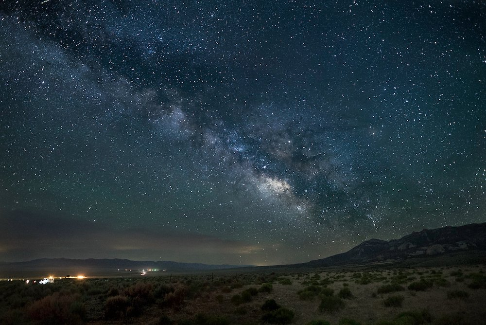 Stargazing in Great Basin - Milky Way View